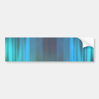 Curtains of Light: Abstract Artwork: Bumper Sticker