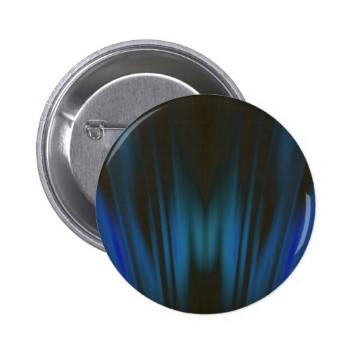 Curtains of Light: Abstract Artwork: 2 Inch Round Button