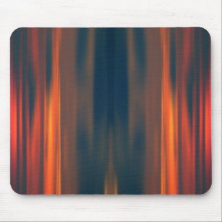 Curtains of Light: Abstract Artwork: Mouse Pad
