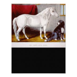 Curtidor e Ives mi vintage del potro y del perro Comunicados Personales