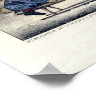 Curtidor y litografía de Ives: Un paseo a la Póster