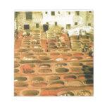 Curtidurías tradicionales, Fes, Marruecos, África  Blocs De Papel