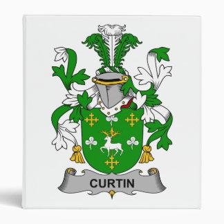 Curtin Family Crest Binder