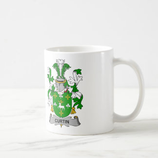 Curtin Family Crest Coffee Mug