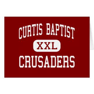 Curtis Baptist - Crusaders - High - Augusta Greeting Cards