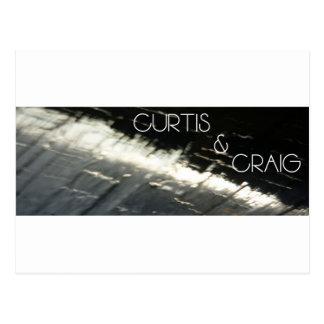 Curtis & Craig logo T's & bit's Postcard