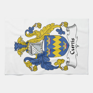 Curtis Family Crest Hand Towels