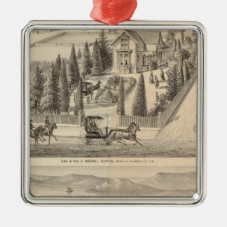 Curtis farm, Poirier Tract Christmas Ornaments