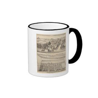 Curtis farm, Poirier Tract Coffee Mugs