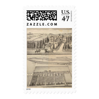 Curtis farm, Poirier Tract Postage