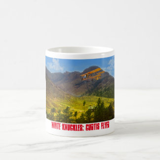 Curtis Flyer in the Mountains Coffee Mug