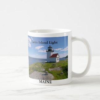 Curtis Island Light, Maine Mug