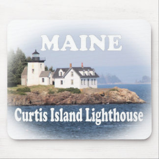 Curtis Island Lighthouse Mouse Pad