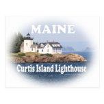 Curtis Island Lighthouse Postcard