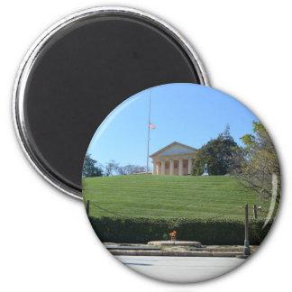 Curtis-Lee Mansion & JFK Flame Refrigerator Magnets