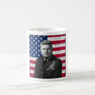 Curtis Lemay and The American Flag Coffee Mug