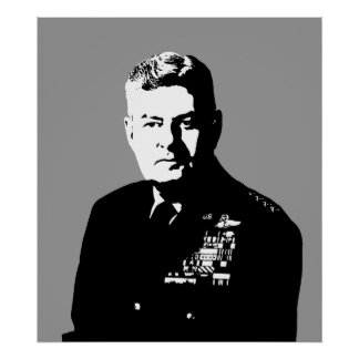 Curtis Lemay -- Blanco y negro Poster