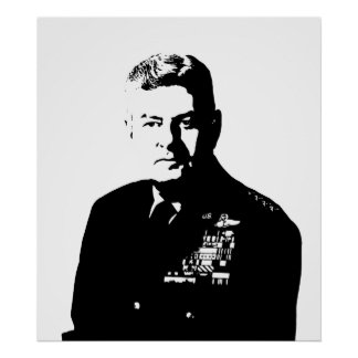 Curtis Lemay -- Blanco y negro Posters
