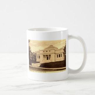 Curtis Library Meriden CT Vintage 1907 Coffee Mug