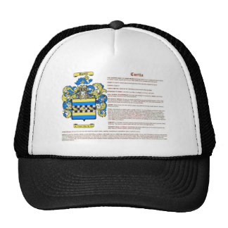 Curtis (meaning) trucker hat