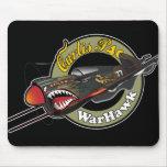 Curtis P40 WarHawk Alfombrillas De Raton