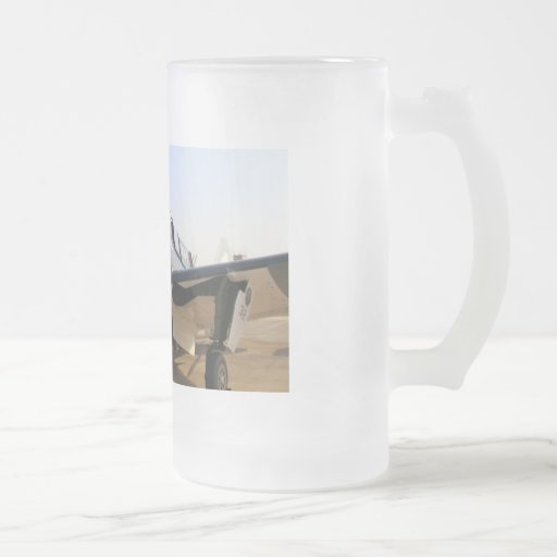 CURTIS SB2C-5 HELLDIVER 16 OZ FROSTED GLASS BEER MUG
