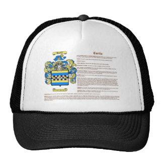 Curtis (significado) gorras