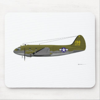 Curtiss C-46 Commando Mouse Pad