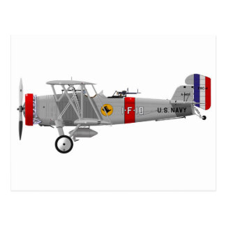 Curtiss F8C-4 Helldiver A5433 Postcard
