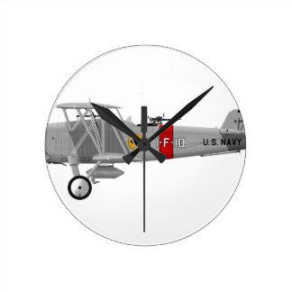 Curtiss F8C-4 Helldiver A5433 Round Clock