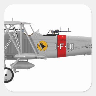 Curtiss F8C-4 Helldiver A5433 Square Sticker