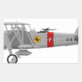 Curtiss F8C-4 Helldiver A5433 Rectangular Sticker