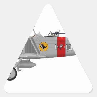 Curtiss F8C-4 Helldiver A5433 Triangle Sticker