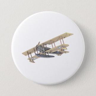 Curtiss Float Plane Pinback Button