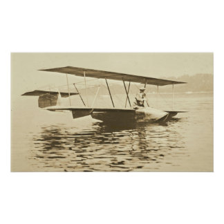 Curtiss Glider Before Take Off Print