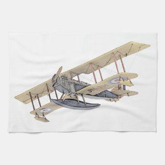 Curtiss JN-4 Jenny Float Plane Kitchen Towel