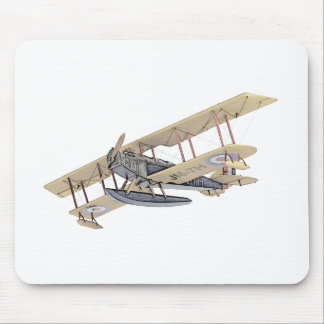 Curtiss JN-4 Jenny Float Plane Mouse Pad