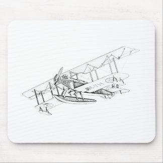 Curtiss JN-4 Jenny Float Plane Mousepads
