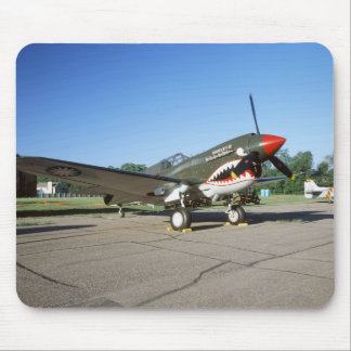 Curtiss P-40 Warhawk, at Minnesota CAF Air Show Mouse Pad