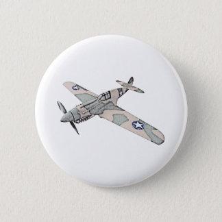 Curtiss P-40 Warhawk Pinback Button