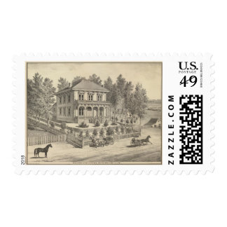 Curtiss residence, Woodland Postage