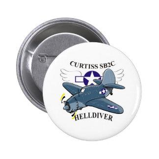 curtiss sb2c helldiver button