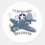 curtiss sb2c helldiver sticker