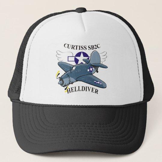 curtiss sb2c helldiver trucker hat