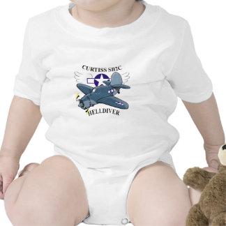 curtiss sb2c helldiver t-shirt