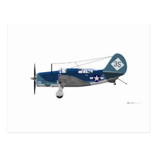 Curtiss SB-2C Helldiver Postcard