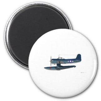 Curtiss SC-1 Seahawk 2 Inch Round Magnet