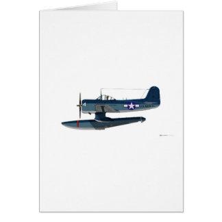 Curtiss SC-1 Seahawk Card