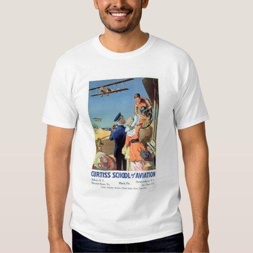 Curtiss School of Aviation (US02053) T-Shirt