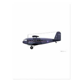 Curtiss Wright T-32 Condor Postcard